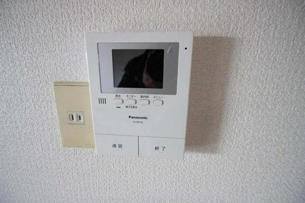室内テレビモニターホン