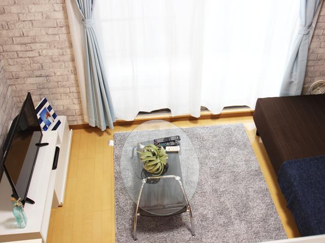エールマンスリー堺町 壱番館 1K 居室・リビング
