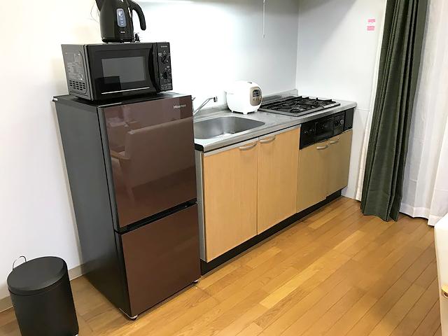 エールマンスリー横川 弐番館 1LDK キッチン