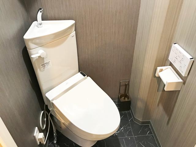 エールマンスリー広島駅 1K トイレ