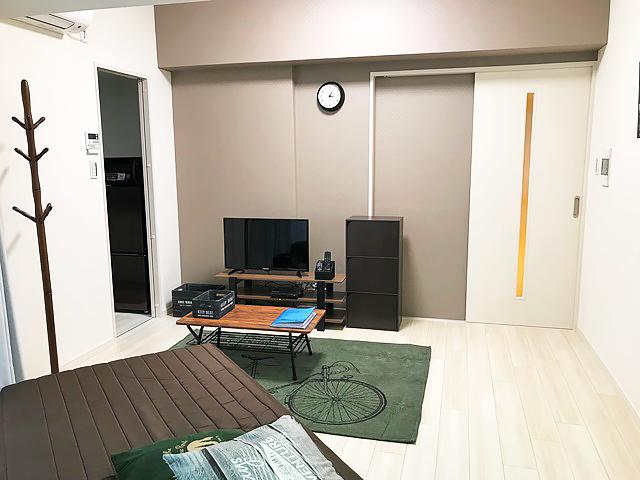 エールマンスリー広島駅 1K 居室・リビング