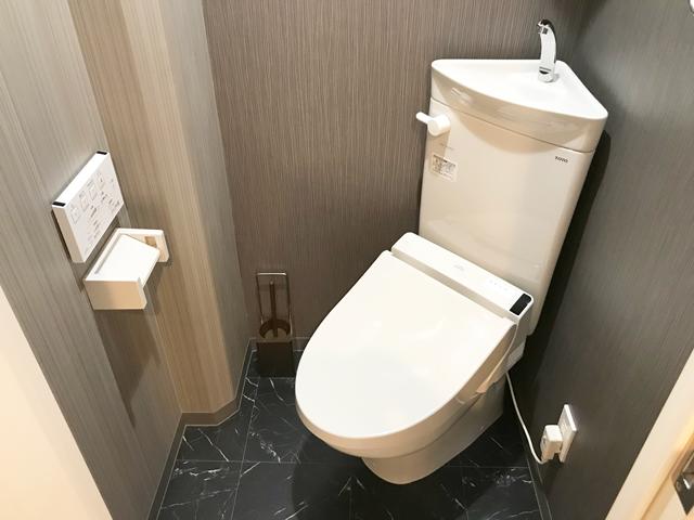 エールマンスリー的場町 壱番館 1K トイレ