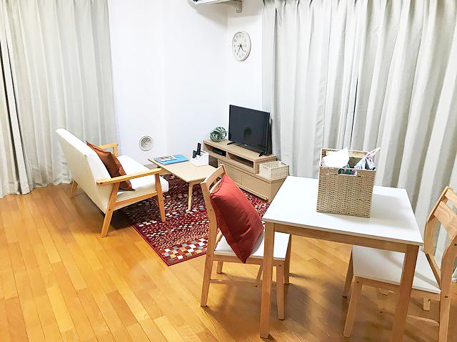 エールマンスリー横川 弐番館 1LDKの室内