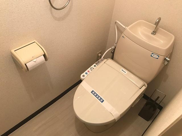 エールマンスリー五日市 壱番館 1K トイレ