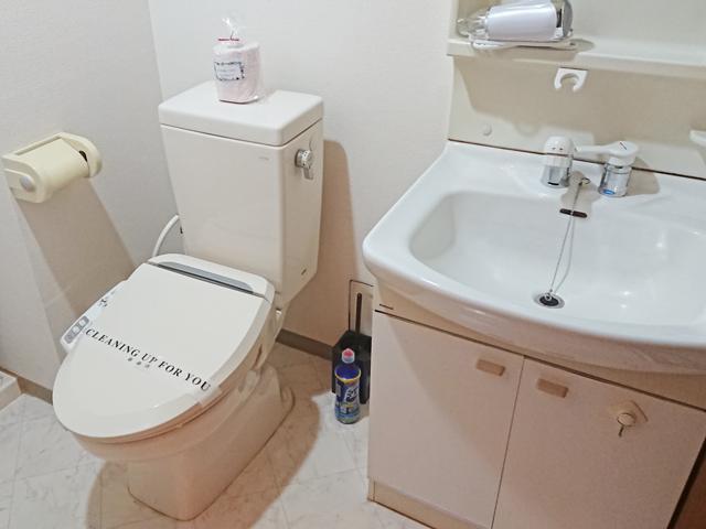 エールマンスリー幟町 壱番館 1K トイレ