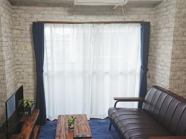 エールマンスリー東白島 壱番館 2DK 居室・リビング