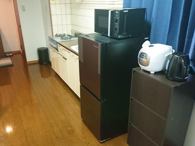 エールマンスリー東白島 壱番館 2DK キッチン