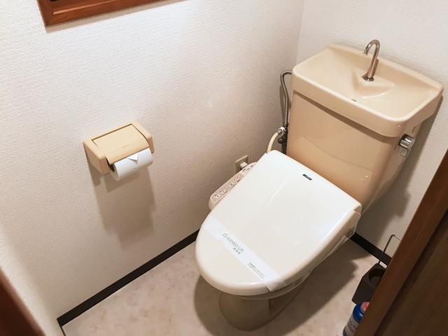 エールマンスリー東白島 壱番館 1K トイレ