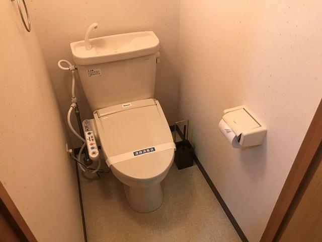 エールマンスリー五日市 弐番館 1K トイレ