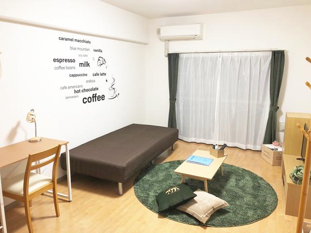 エールマンスリー横川 参番館 1Kの室内