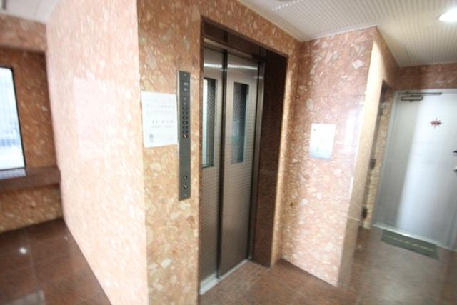 エールマンスリー東白島 壱番館 1K エレベーター