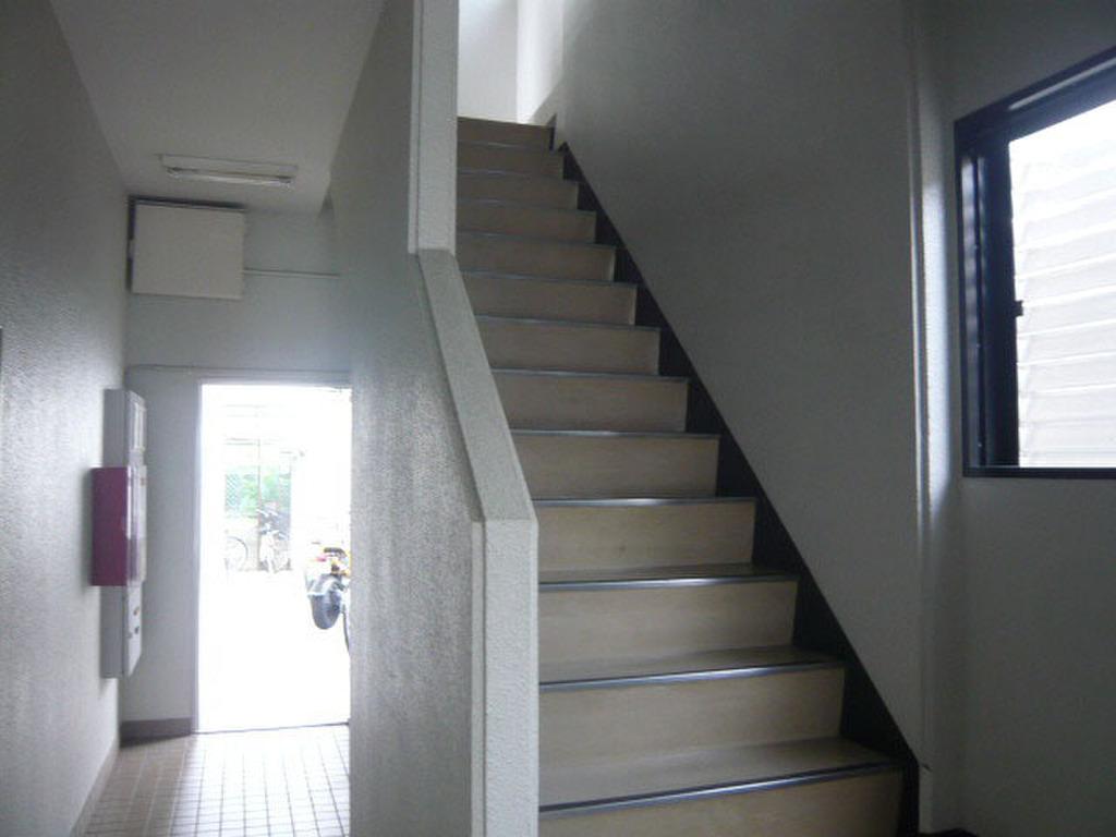 広島県広島市安佐南区緑井2丁目 階段