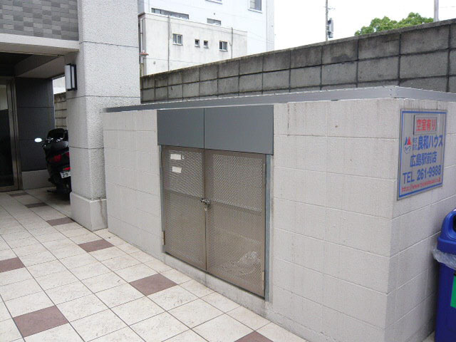 エールマンスリー広島駅弐番館 1K ゴミ捨て場