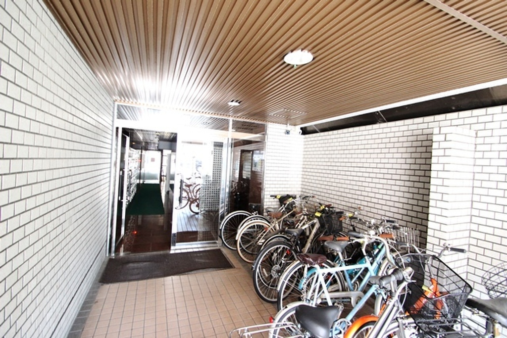 広島県広島市中区舟入中町 駐輪場